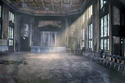 Die Wiederentdeckung des Schlesiensaals im Jahre 2050. Foto: theater morgenstern