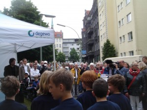 Kinder der Löcknitz-Grundschule